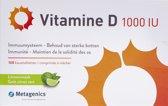 Metagenics Vitamine D 1000 IU 168 kauwtabletten