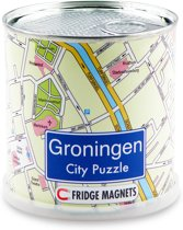 City Puzzle Groningen Puzzel Magnetisch 100 puzzelstukjes