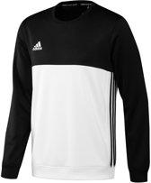 adidas T16 Crew Sweat Sporttrui - Maat S  - Mannen - zwart/wit