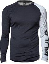 Attitude shirt merino wol – grijs - maat L