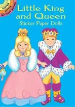 Little King and Queen Sticker Paper Dolls