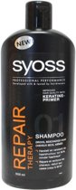 SYOSS Repair Therapy - 500 ml - Shampoo
