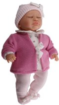 Berjuan Babypop Dormilon 40 Cm Roze