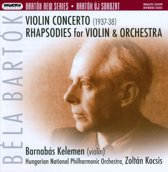 Bartok: Violin Concerto; Rhapsodies for Violin & Orchestra