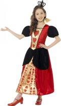 Hartenvrouw jurk voor meisjes 145-158 (10-12 jaar)