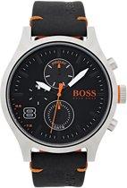 Boss Orange - HO1550020 - Amsterdam - Horloge - Leer - 49mm - Zwart