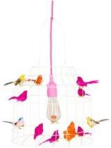 meisjeskamer hanglamp roze | neon | babykamer | speelhoek óf werkplek