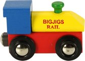 BigJigs lettertrein locomotief