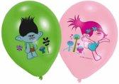 Trolls Ballonnen 28cm 6 stuks
