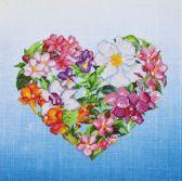 Diamond Dotz Flower Heart - Diamond Painting