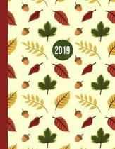 2019 Planner; Leaves