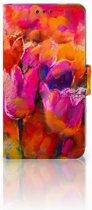 Nokia 3 Boekhoesje Design Tulips