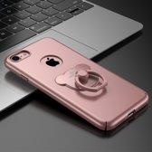 Roze Hardcase Hoesje met Ring voor iPhone 7 Plus