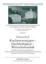 Kirchenvermoegen - Nachhaltigkeit - Wirtschaftsethik