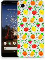 Google Pixel 3A XL Siliconen Case Fruits