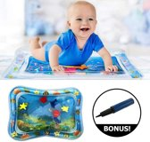 Baby Splash Opblaasbare Waterspeelmat + GRATIS Opblaaspomp! | Speelkleed  Aquamat - Watermat - Babytrainer - Speelmat - Kraamcadeau – Babyshower – Speelgoed | Hoge Kwaliteit van Dapoda Products