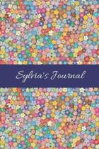 Sylvia's Journal: Cute Personalized Name College-Ruled Notebook for Girls & Women - Blank Lined Gift Journal/Diary for Writing & Note Ta