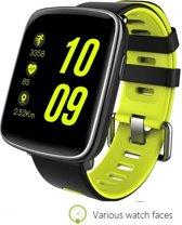 Smartwatch Activity tracker met Hartslagmeter *Nieuw Waterdicht Model* Zwemmen Polsband Stappenteller Hartslag monitor Fitness Tracker Band Groen by MaiDealz Verwisselbaar met Extra Armband ( Rood)