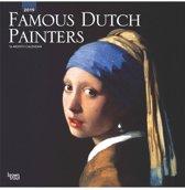 Famous Dutch Painters 2019 Square Wall Calendar