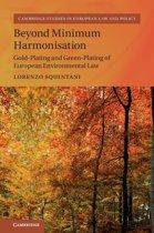 Beyond Minimum Harmonisation