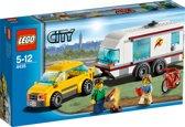 LEGO City Auto met Caravan - 4435