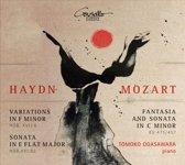 Haydn: Variations in F minor; Sonata in E flat major: Mozart: Fantasia and Sonata in C minor
