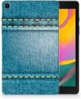 Samsung Galaxy Tab A 8.0 (2019) Leuke Siliconen Hoes Jeans