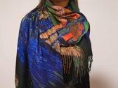 Paco's Salamanca Art Dames Wintersjaals