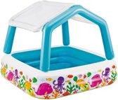 Intex Kinderbad Jumbo met dak - Zwembad