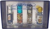 Ed Hardy - Eau de toilette - Love & Luck 7.5ml edt + Hearts & Daggers 7.5ml edt + Born Wild 7.5ml edt + villain 7.5ml edt - Gift
