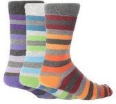 3 paar heren sokken New York mt 39 - 45 - zonder knellend boord