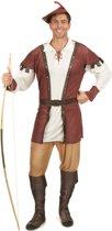 Bruin Robin Hood kostuum voor mannen - Volwassenen kostuums