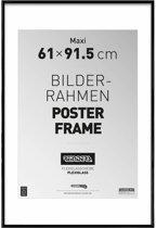 Reinders Wissellijst voor posters - 61x91,5 cm - Zwart
