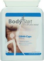 BodyStart Libido Caps | 570 mg | Verhoogt de seksdrive & geeft intensere orgasmes | 100% natuurlijke ingrediënten | Meer seksueel zelfvertrouwen | 60 Capsules