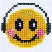 Diamond Dotz ® painting Smiling Groove (7.6x7.6 cm)