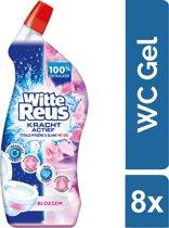 Witte Reus Toiletreiniger - Voordeelverpakking - Bloesem 8 x 700ml