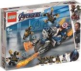 LEGO Marvel Avengers: Endgame Captain America: Aanval van de Outriders - 76123
