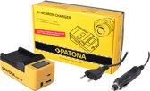 PATONA Synchron USB Charger f. Nikon ENEL19 EN-EL19 with LCD