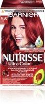 Garnier Nutrisse Ultra Color Haarverf - 6.60 Vurig Rood