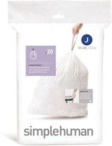 Simple Human Afvalzakken Code J 20 stuks voor 38-40 liter