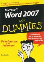 Voor Dummies - Word 2007 voor Dummies