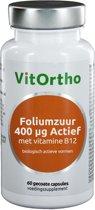 Vitortho foliumzuur + vit b 60 st