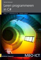 MBO ICT - Programmeren in C# deel 1
