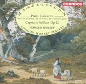 Mendelssohn: Piano Concertos nos 1 & 2 etc / Shelley, London Mozart Players