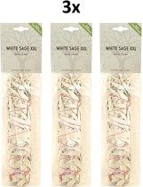 Jiri and Friends smudgestick Witte Salie  voordeelpak 3 sticks