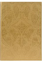 A5 Slim Hardbound Journal Paseo Gold