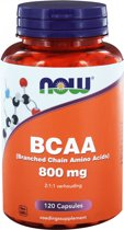 Now Bcaa 800 mg
