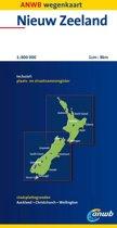 ANWB wegenkaart - Nieuw Zeeland