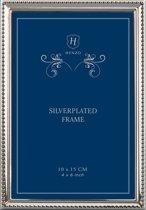 Fotolijst - Henzo - Cambridge - Fotomaat 10x15 - Zilver