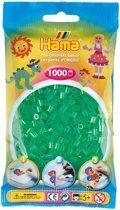 Strijkkralen 1000 Stuks Groen Doorzichtig
